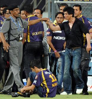 Indian Premier League 2012 Mca Bans Shah Rukh Khan From