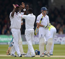 West Indies battle as England close in
