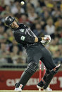 Jacob Oram ducks a short ball, Australia v New Zealand, Twenty20 international, Perth, December 11, 2007
