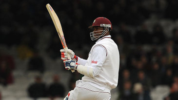 Marlon Samuels played superbly to give West Indies the lead