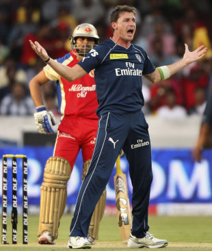 Dale Steyn was in red-hot form, Deccan Chargers v Royal Challengers Bangalore, IPL, Hyderabad, May 20, 2012