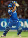 Sachin Tendulkar cuts during his unbeaten 58, Rajasthan Royals v Mumbai Indians, IPL, Jaipur, May 20, 2012