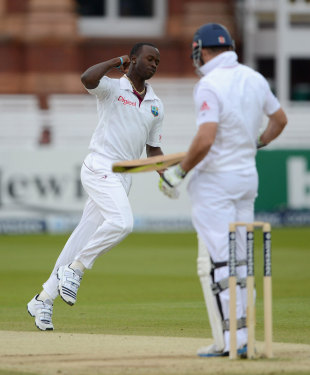 Kemar Roach has caused England problems during the series
