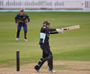 Zafar Ansari clubbed 60 off 54 balls, Surrey v Durham, Clydesdale Bank 40, The Oval, May 20, 2012