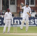 Ian Bell punches the air as England win by five wickets, England v West Indies, 1st Test, Lord's, 5th day, May 21, 2012