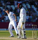 Tim Bresnan took late wickets with reverse swing, England v West Indies, 2nd Test, Trent Bridge, 3rd day, May 27, 2012
