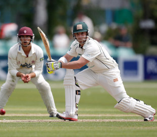 Phillip Hughes made 53 on his first Championship appearance for Worcestershire, Worcestershire v Somerset, County Championship, Division One, New Road, May 30, 2012