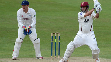 Andrew Hall lifted Northamptonshire with 79