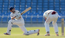 Joe Root plays a sweep shot on his way to a century, Yorkshire v Northamptonshire, County Championship, Division Two, 2nd day, May 31, 2012