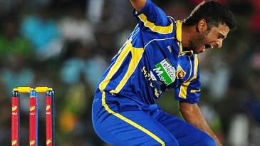 Kaushal Lokuarachchi picked up two quick wickets