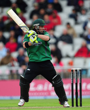 Phillip Hughes continued his good form since joining Worcestershire, Lancashire v Worcestershire, Clydesdale Bank 40, Group A, Old Trafford, June 5, 2012
