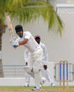Shami Ahmed flicks one away, West Indies A v India A, 1st unofficial Test, Barbados, 4th day, June 5, 2012