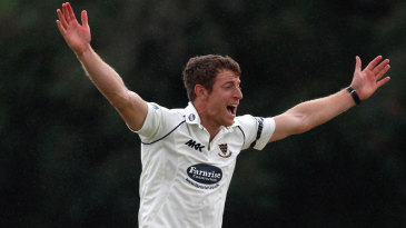 James Anyon picked up four first-innings wickets
