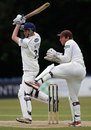 Luke Wells battled as wickets fell around him, Sussex v Surrey, County Championship, Division One, Horsham, 2nd day, June 7, 2012