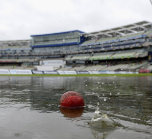 A huge amount of rain fell for a second day at Edgbaston, England v West Indies, Edgbaston, 3rd Test, 2nd day, June, 8, 2012