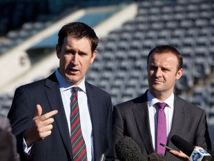 James Sutherland announced Canberra would host an ODI, Canberra, June 8, 2012