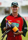 Grant Flower was the Man of the Match for his unbeaten 96, England v Zimbabwe, NatWest Series, 1st match, Trent Bridge, June 26, 1003