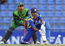 Mahela Jayawardene looked for quick runs