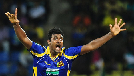 Thisara Perera claimed his third five-for in ODIs