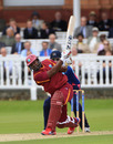 Dwayne Smith hit 96 to warm up for the one-day series, Middlesex v West Indians, Tour match, Lord's, June 13, 2012