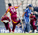 England stroll home in first ODI