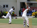 Rohit Sharma was bowled by Jonathan Carter while shouldering arms, West Indies A v India A, 3rd unofficial Test, St Lucia, 1st day, June 16, 2012