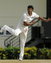 Jalaj Saxena picked up three wickets for India A, West Indies A v India A, 3rd unofficial Test, St Lucia, 2nd day, June 17, 2012