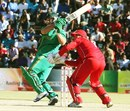 Richard Levi pulls during his half-century, Zimbabwe v South Africa, T20 tri-series, Harare, June 23, 2012