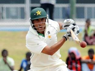 Younis Khan punches one through the off side, Sri Lanka v Pakistan, 1st Test, Galle, 4th day, June 25, 2012
