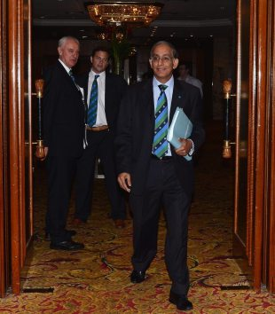 Haroon Lorgat, the ICC chief executive, at the annual conference, Kuala Lumpur, June 26, 2012