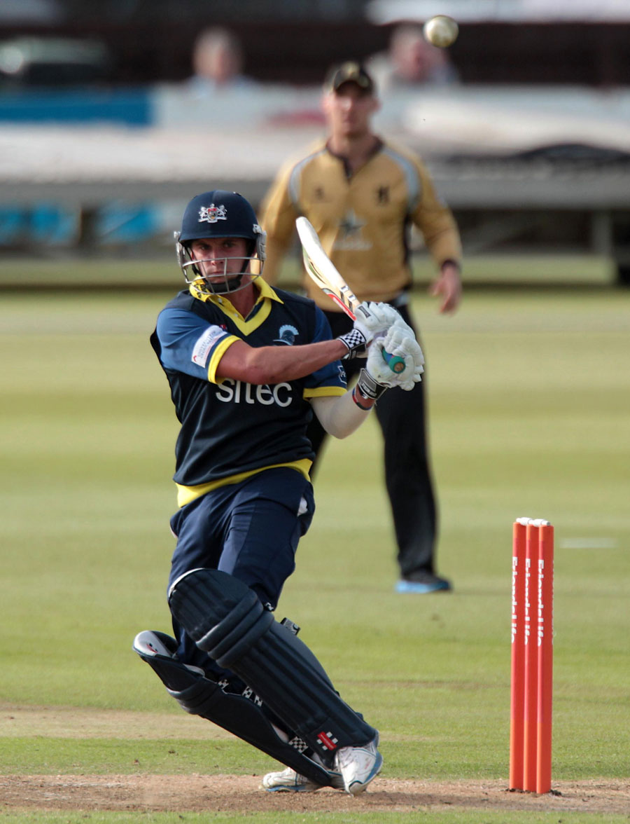Dan Housego hit his first T20 half-century