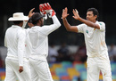 Suraj Randiv celebrates with team-mates after dismissing Azhar Ali, Sri Lanka v Pakistan, 2nd Test, SSC, Colombo, 2nd day, July 1, 2012