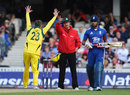 Michael Clarke thought it had Eoin Morgan lbw, England v Australia, 2nd ODI, The Oval, July 1, 2012