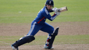 Tammy Beaumont made her highest score in ODIs