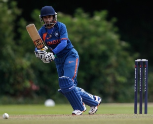Mithali Raj scored 58, England Women v India Women, 4th ODI, Truro, July, 8, 2012