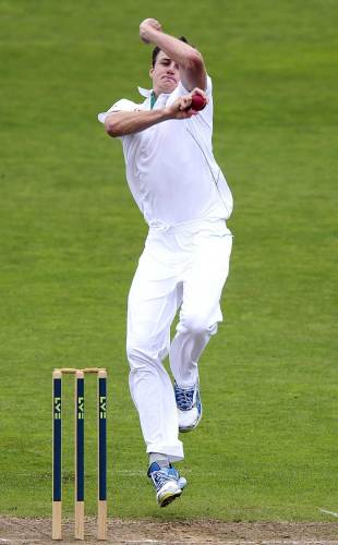 Morne Morkel's first over of the tour cost 24, Somerset v South Africans, Tour Match, Taunton, 1st day, July 9, 2012