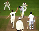 Craig Overton bowled Vernon Philander, Somerset v South Africans, Tour match, Taunton, 2nd day, July 10, 2012