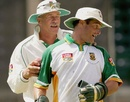 Mark Boucher and Ray Jennings, March 28, 2005