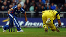 James Tredwell runs out Peter Forrest