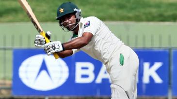 Asad Shafiq scored an unbeaten half-century