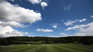Wormsely cricket ground
