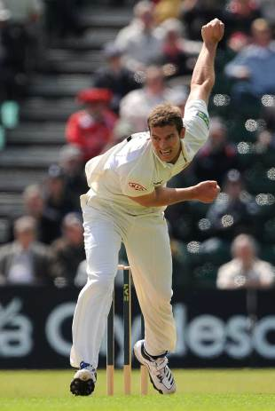 Chris Tremlett was back in Championship action for Surrey, Surrey v Lancashire, County Championship, Division One, Guildford, July 11, 2012