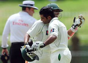 Asad Shafiq and Adnan Akmal added an unbeaten 81, Sri Lanka v Pakistan, 3rd Test, Pallekele, 5th day, July 12, 2012