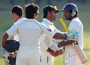 The match was called off with nine overs remaining, Sri Lanka v Pakistan, 3rd Test, Pallekele, 5th day, July 12, 2012