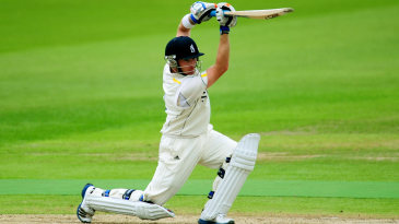 Despite a change of ball colour, Ian Bell remained in good touch