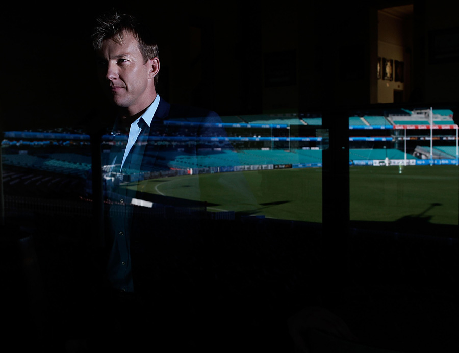 Brett Lee announced his international retirement at the SCG