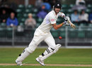 Kevin Pietersen plays a shot on his way to a hundred, Surrey v Lancashire, County Championship, Division One, 3rd day, Guildford, July 11, 2012