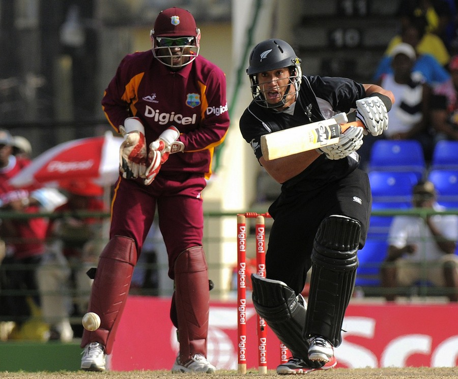 Ross Taylor made 110 on his comeback from a shoulder injury