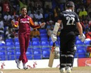 Sunil Narine trapped Kane Williamson lbw, West Indies v New Zealand, 4th ODI, Basseterre, July 14, 2012