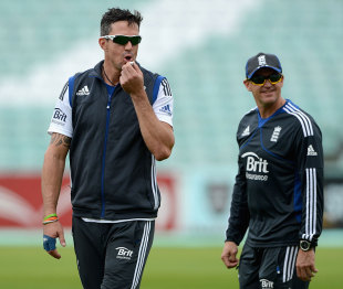 Andy Flower has said there is a long way to go before Kevin Pietersen can return for England